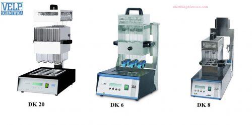 MÁY PHÁ MẪU DK6/DK8/DK20