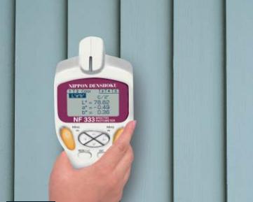 Kiểu đo dạng mouse của máy so màu cầm tay nf555