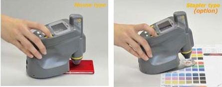 Kiểu đo dạng Stape của máy so màu cầm tay nf555